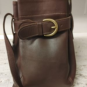 Vintage Coach Belted Soho Pouch Purse